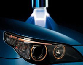 Bonding of automobile headlights